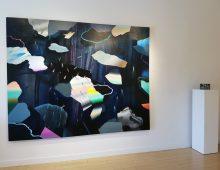 Installation at Elissa Cristall Gallery